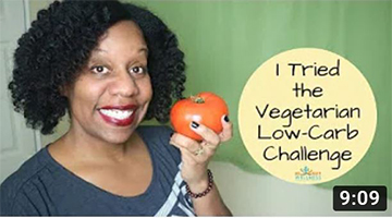 My Vegetarian Low Carb Experience