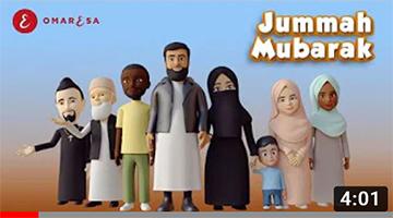 Omar Esa – Jummah Mubarak Nasheed | 3D Islamic Cartoon