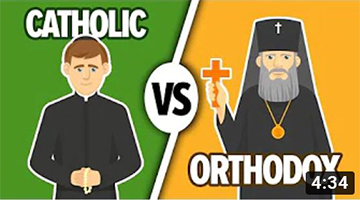 Orthodox vs Catholic | What is the Difference? | Animation 13+