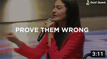 Prove Them Wrong! | Iron lady | Muniba Mazari | Goal Quest