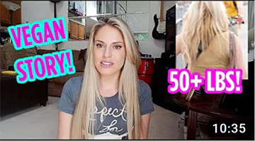 Story Time Going Vegan + 50lb Weight Loss Story + Health Benefits