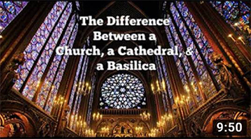 The Difference Between a Church, a Cathedral, and a Basilica