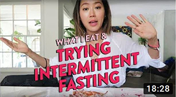 What I Eat In A Week & My Attempt on Intermittent Fasting | Aimee Song