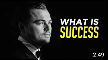 What is Success – Motivational Speech for Success in Life
