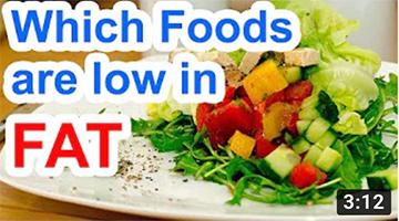 Which Foods Are Low In Fat